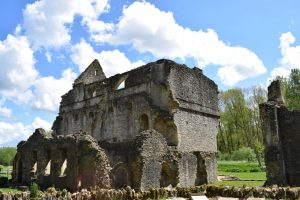 The Ruins at Minster Lovell