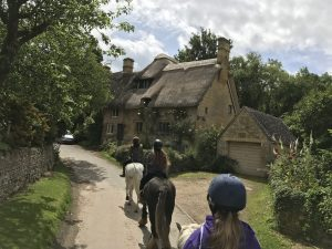 Horse Riding through Stanton
